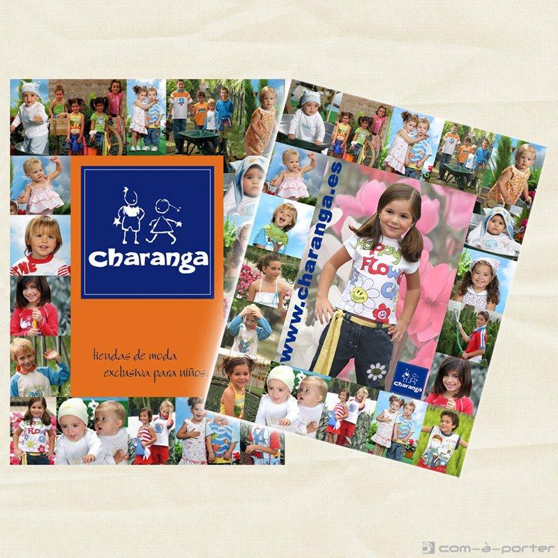 Páginas completas de Publicidad de Charanga