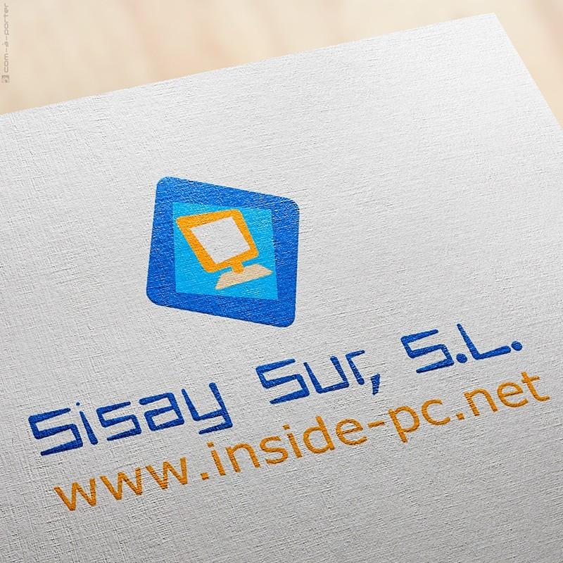 Logotipo y tarjeta de visita de Visita de Sisay Sur