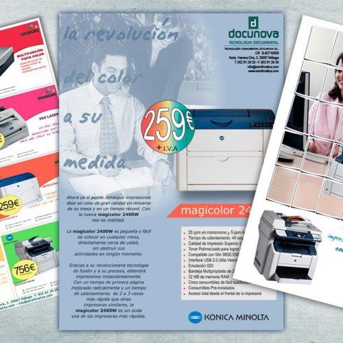 Páginas completas de Publicidad de Docunova (antigua Serofimática)