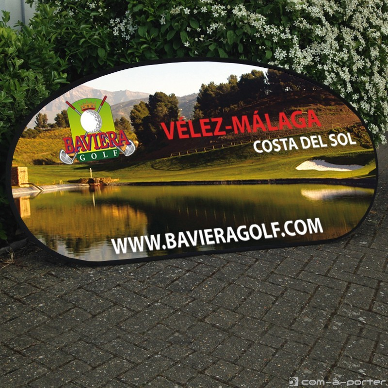 Diseño de golf banner (pop-up mariposa) de Baviera Golf