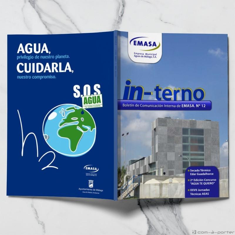 Maquetación de Revista IN-TERNO (EMASA)