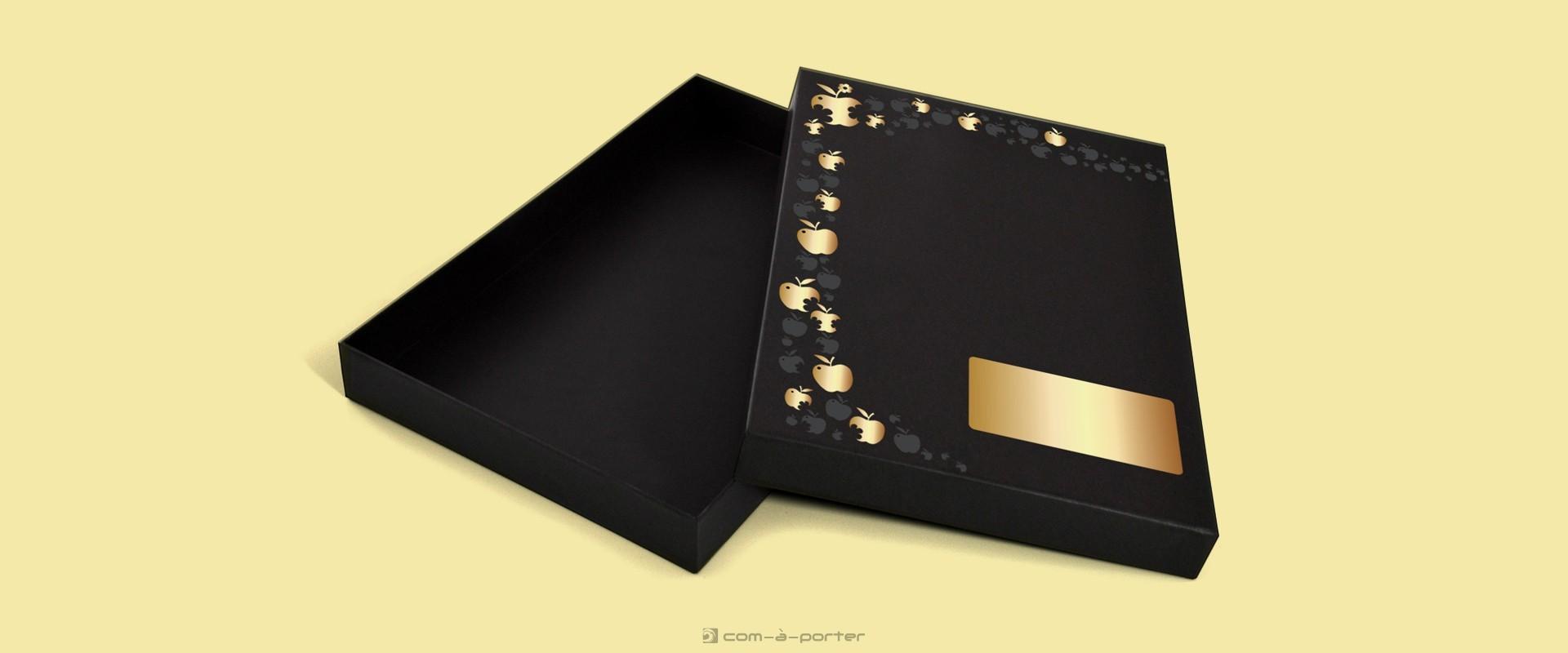 Diseño de caja regalo para lencería de No es Pecado