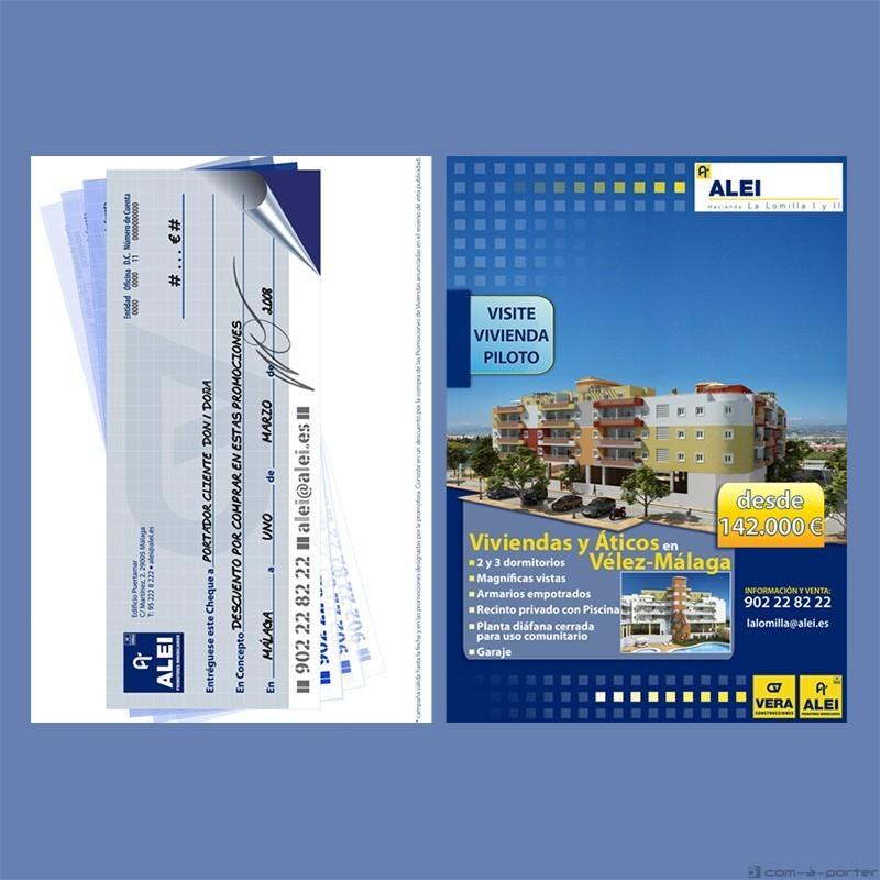 Flyer promocional de Hacienda La Lomilla I y II d