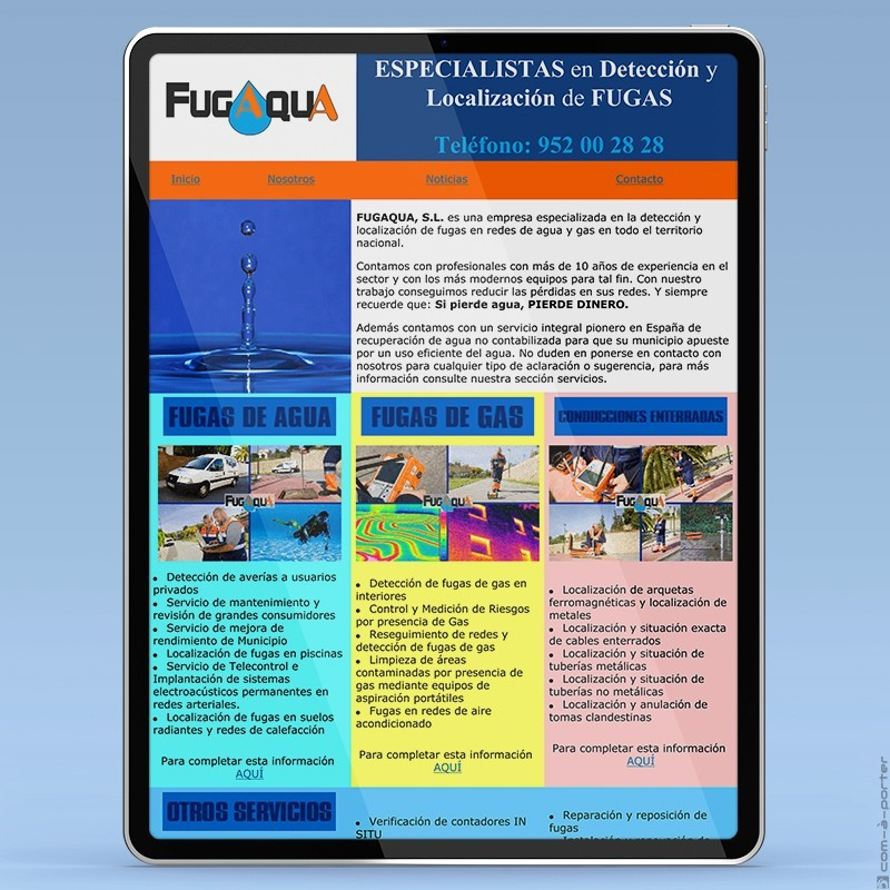 Newsletter de FUGAQUA