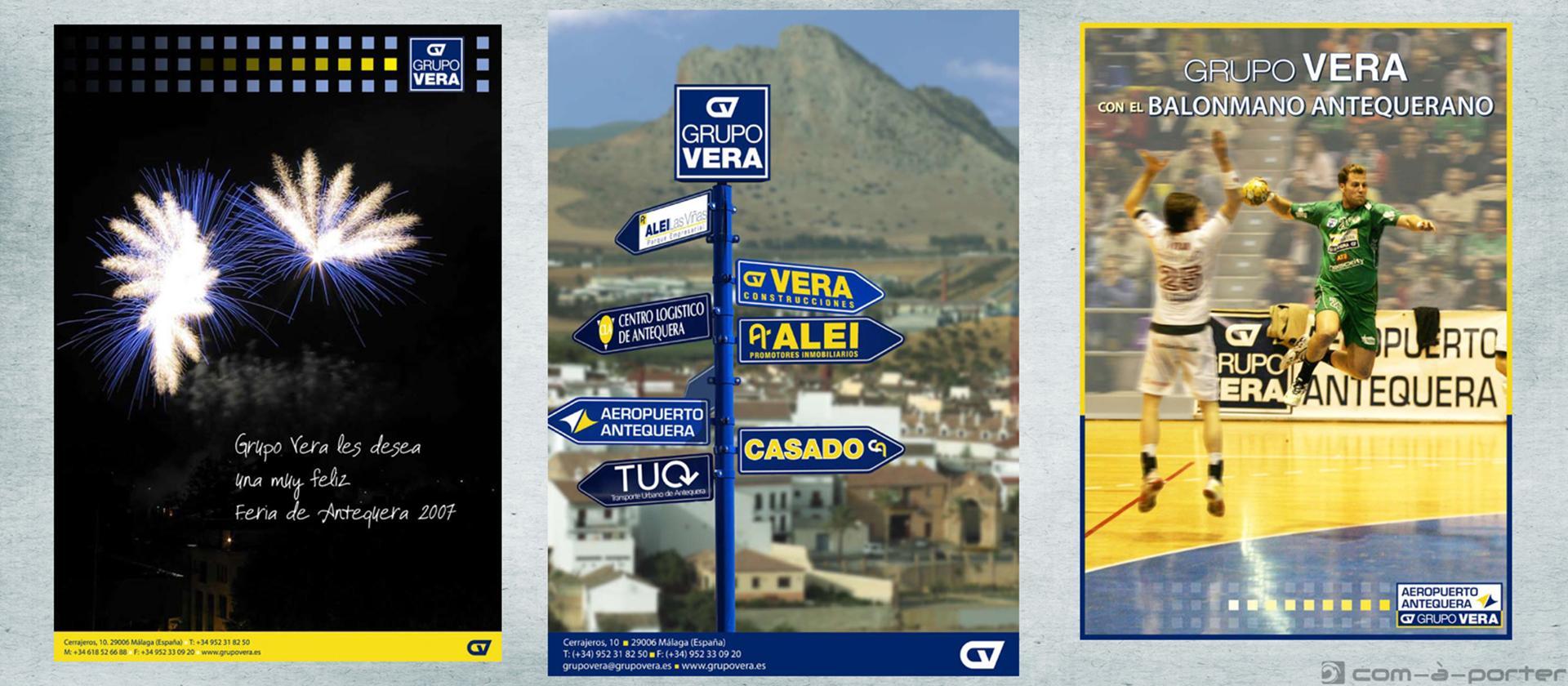 Páginas completas de Publicidad de Grupo Vera (especial Antequera)