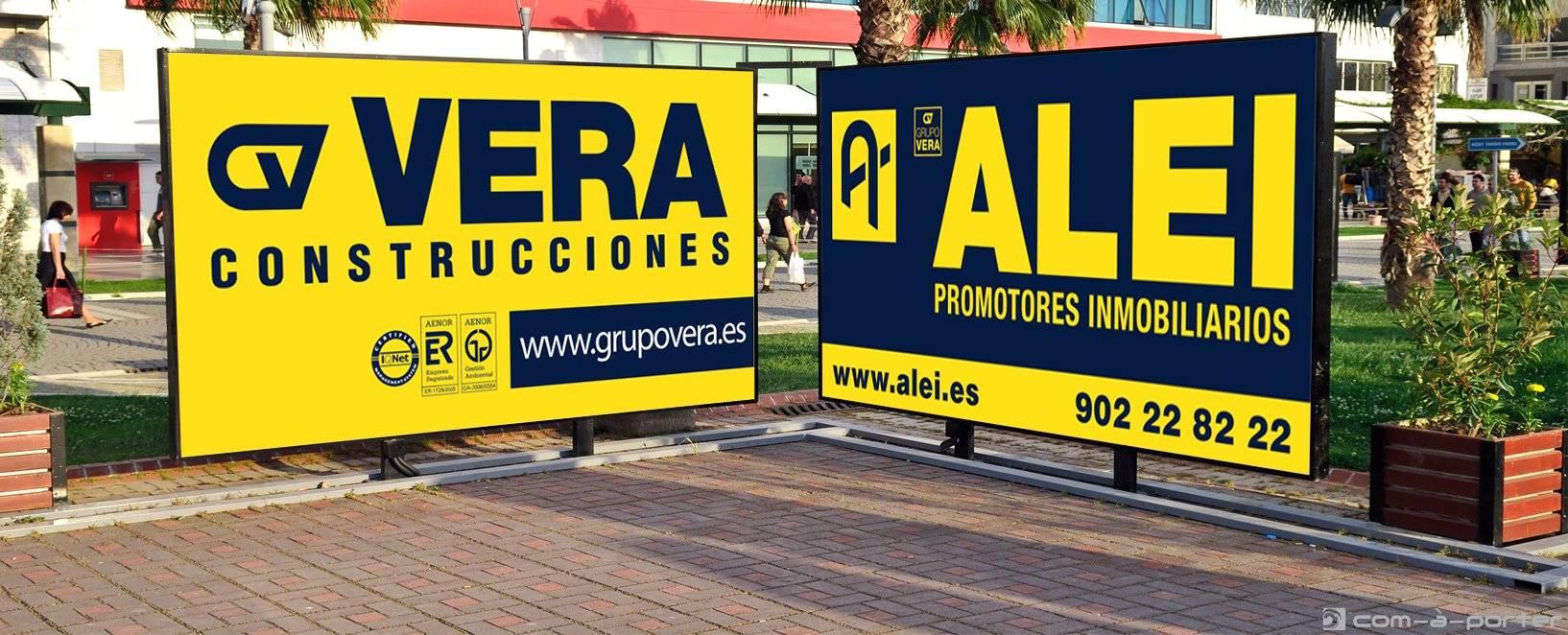 Vallas corporativas de Grupo Vera