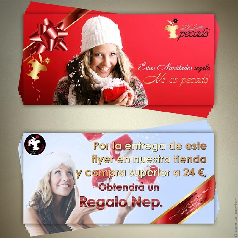 Flyer Especial de Navidad 2009 de No Es Pecado