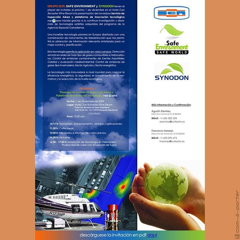 Invitación electrónica de SCR Iberia