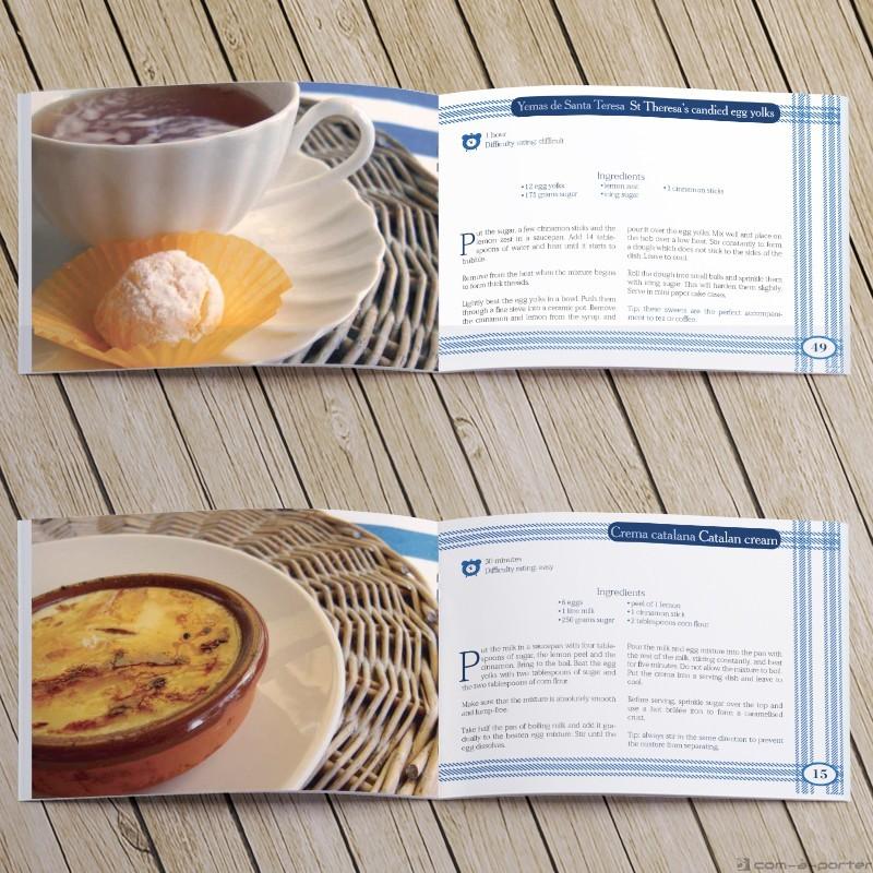 Maquetación de Libro de Recetas Traditional Spanish Cooking
