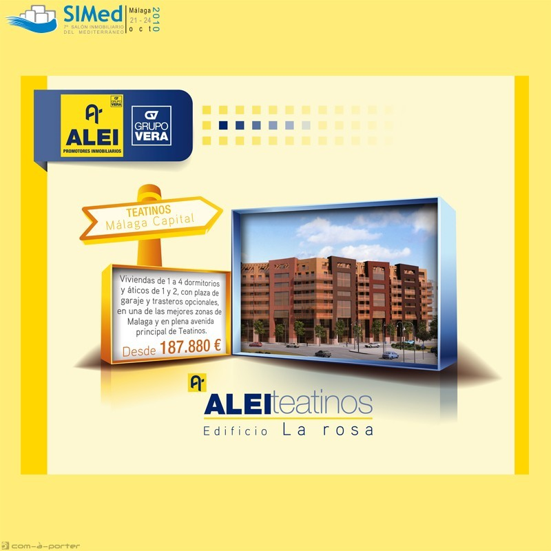 Stand modular de 50 m para 7º Salón Inmobiliario del Mediterráneo (SIMed 2010)