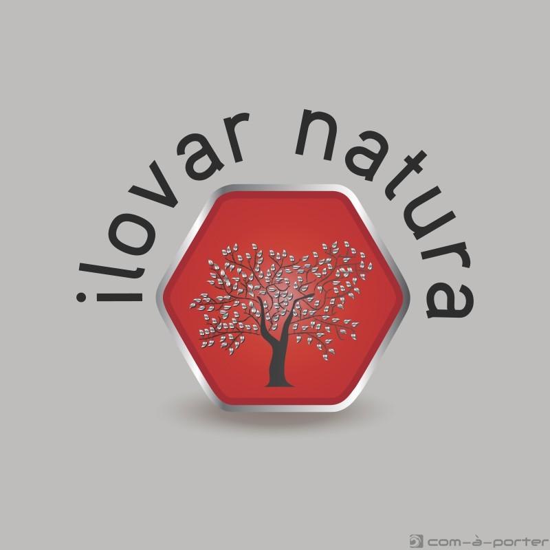 Logotipo y tarjeta de visita de Ilovar Natura