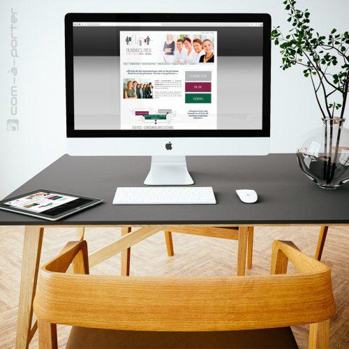Página web corporativa Training First