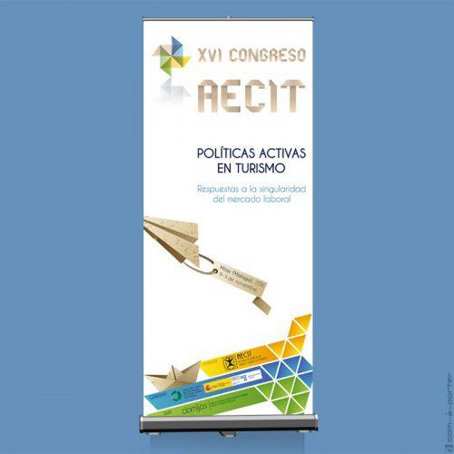 Cartel del XVI Congreso AECIT