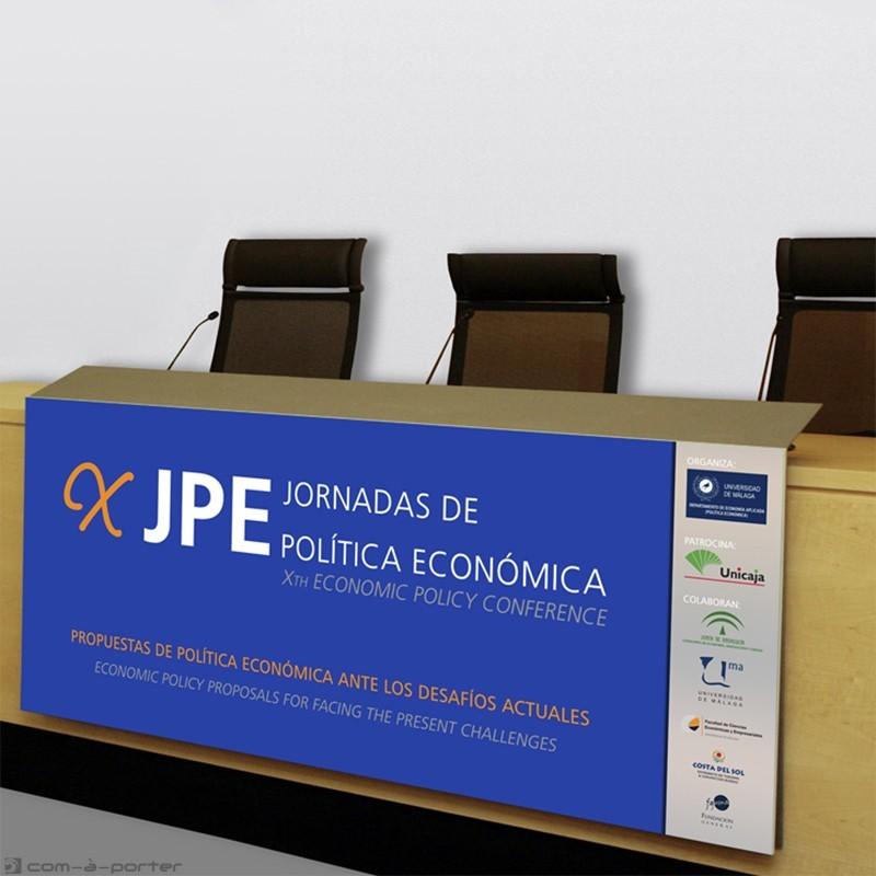 Cartelería de las X Jornadas de Política Económica