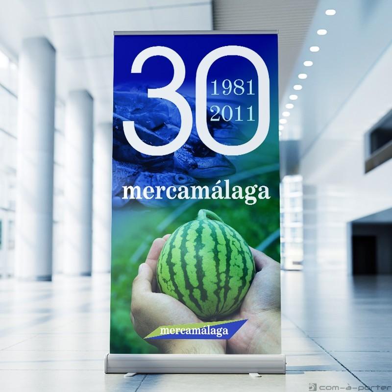 Cartelería para el 30º Aniversario de Mercamálaga