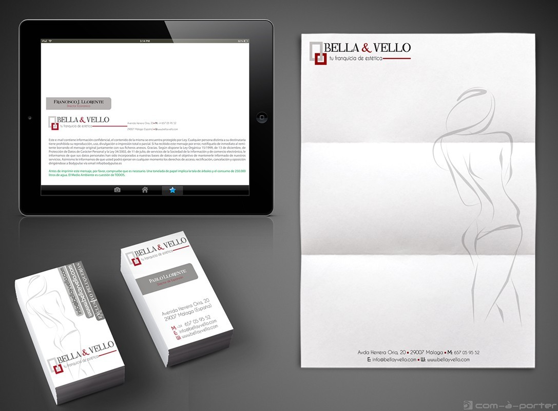 Imagen Corporativa de Bella & Vello