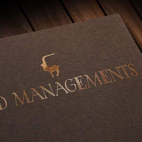 Logotipo de MD Managements