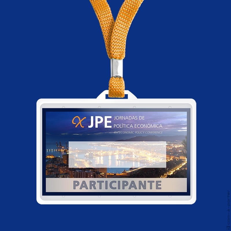 Diseño de Acreditaciones para Organización y Participantes de las X Jornadas de Política Económica