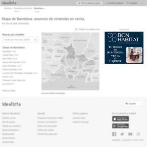 Banner robapágina de Inversiones y servicios inmobiliarios en Barcelona para portal inmobiliario www.idealista.com