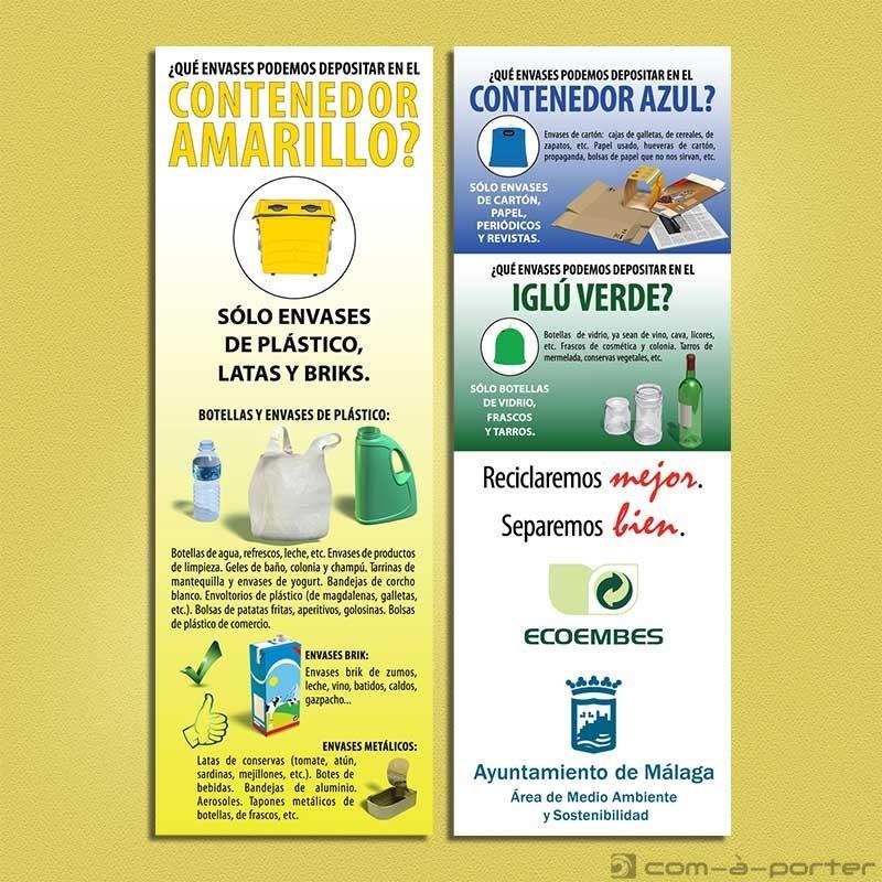 Diseño de guarda-páginas de la Campaña ECOEMBES