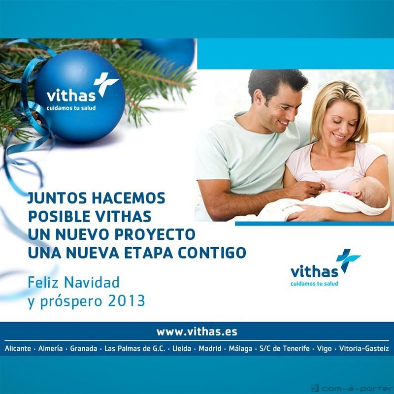 Felicitación electrónica de Navidad y próspero 2013 (Vithas Hospital Parque San Antonio)