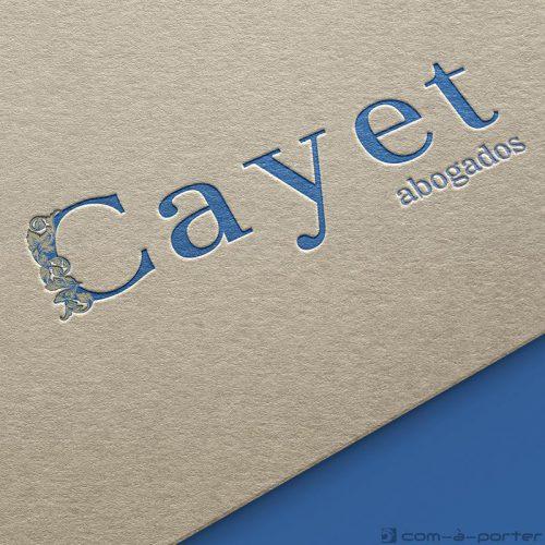 Logotipo de Cayet Abogados