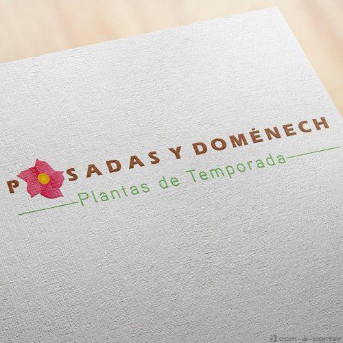 Logotipo de Posadas y Doménech Plantas de Temporada