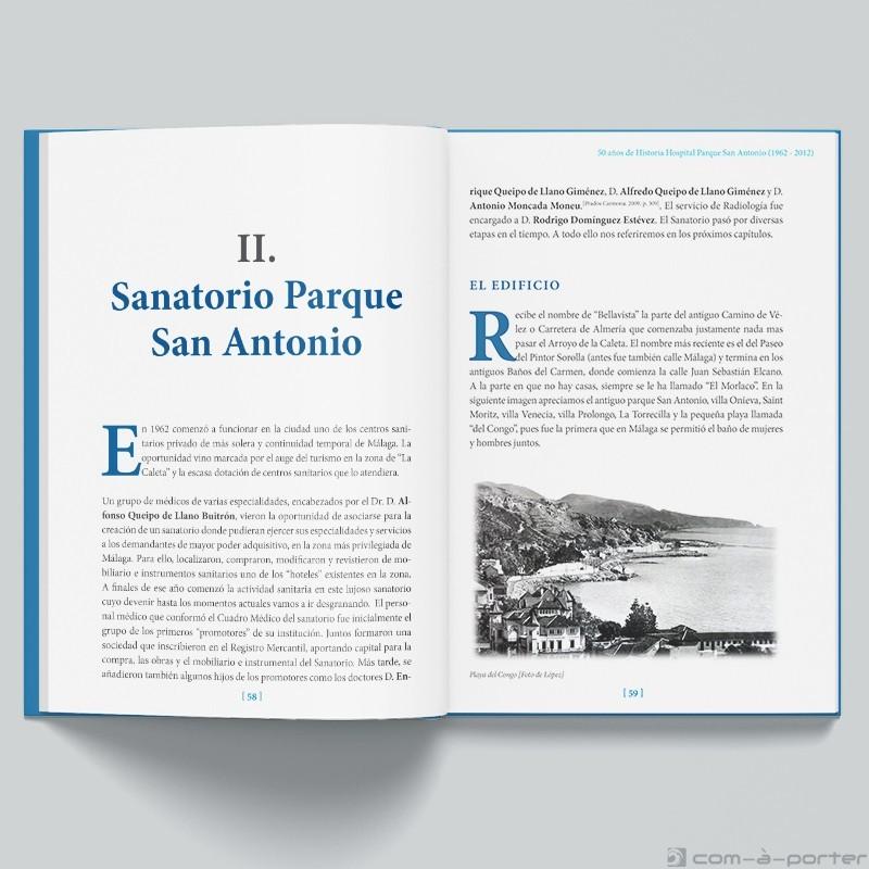 Maquetación del Libro 50º Aniversario de VHPSA