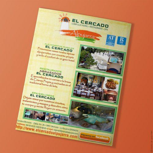 Página completa de Publicidad de Complejo Rural El Cercado