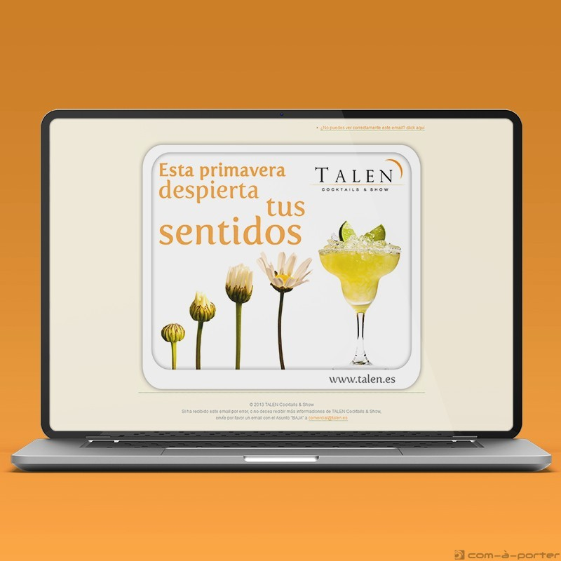 Newsletters Cuatro Estaciones (2013) de TALEN Cocktails & Show