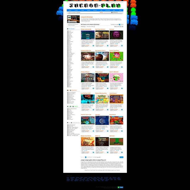 Juegos Play. Tu página de juegos online