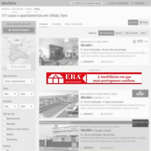 Megabanner de agencia inmobiliaria en Olhão (Portugal) para portal inmobiliario www.idealista.pt