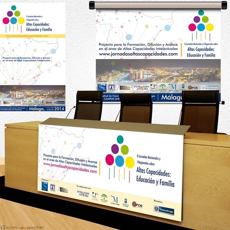 Cartelería para las II Jornadas Nacionales y I Regionales sobre Altas Capacidades