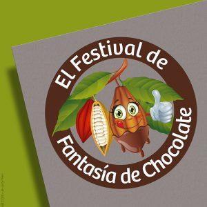 Logotipo de El Festival de Fantasía de Chocolate