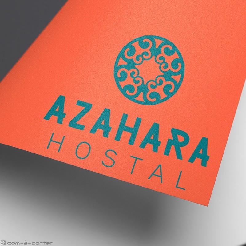 Logotipo de Hostal Azahara de la cadena Spain-Hostal