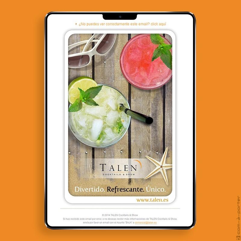 Newsletters Cuatro Estaciones (2014) de TALEN Cocktails & Show