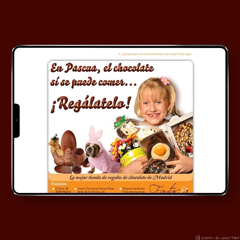 Newsletters promocionales de Fantasía de Cholocate