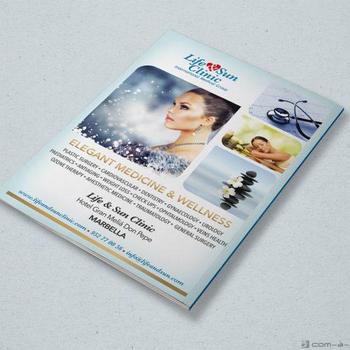 Página completa de Publicidad Life & Sun Clinic