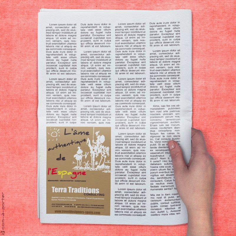 Robapáginas de Terra Traditions Consulting para revista especializada de Francia