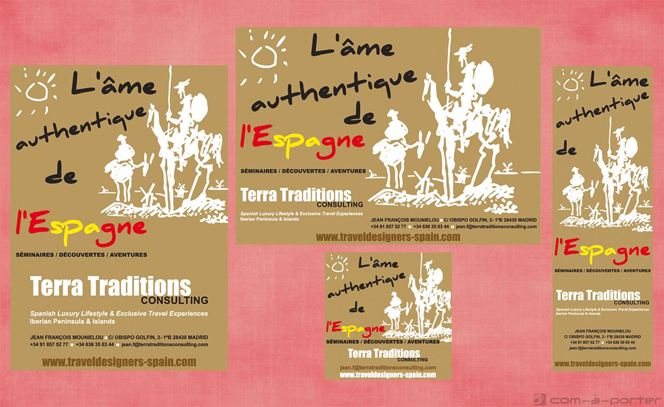 Robapáginas de Terra Traditions Consulting para revista especializada de Francia