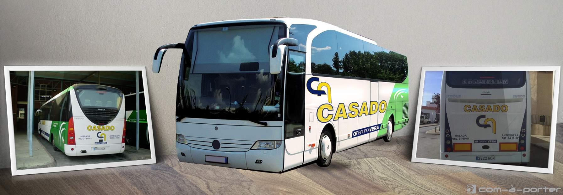 Rotulación Autobuses Casado (Grupo Vera)