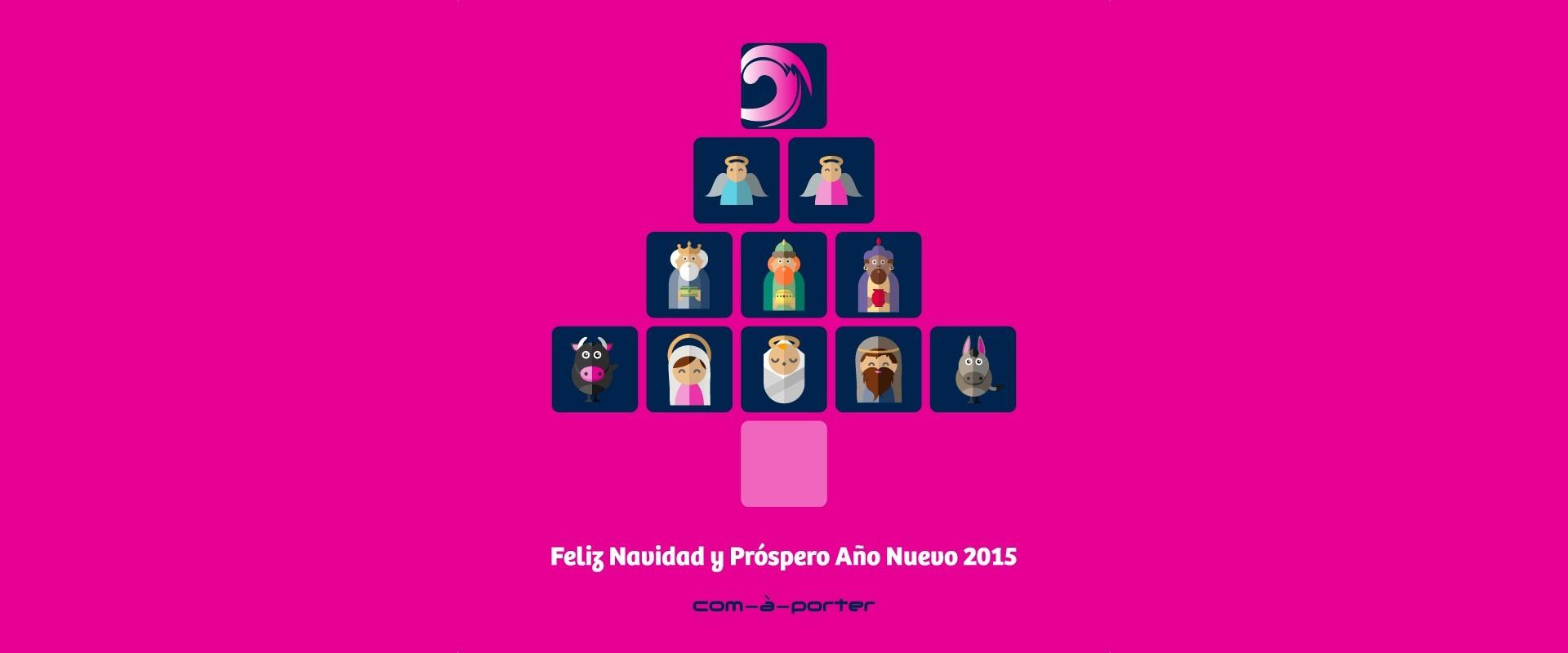 Com-à-porter os desea Feliz Navidad y próspero 2015