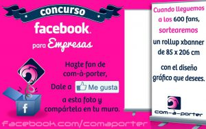 Concurso Facebook de com-à-porter
