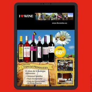 Newsletters Cuatro Estaciones (2015) de ILOVEWINE