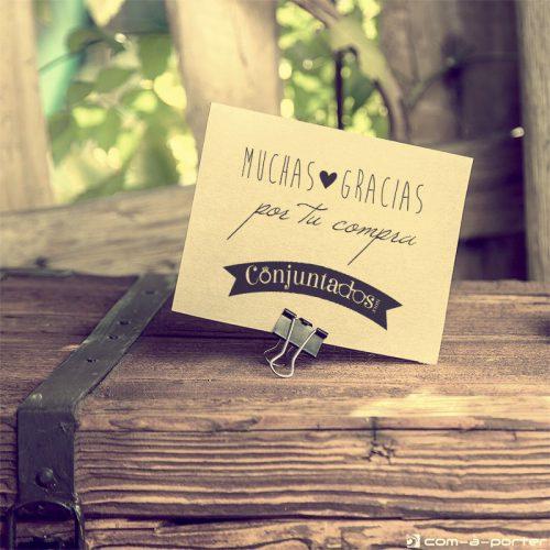 Packaging para Conjuntados Online Shop