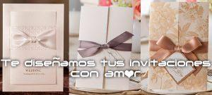 ¿Casi te casas? Te diseñamos las invitaciones para tu evento especial