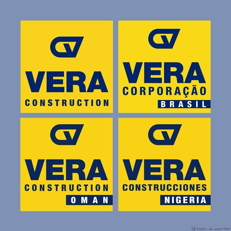 Logotipos de Construcciones Vera Internacional