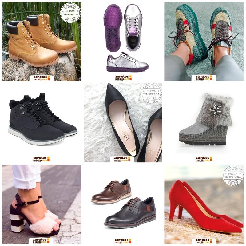 Diseños para las Redes Sociales de Zapatos de Talla