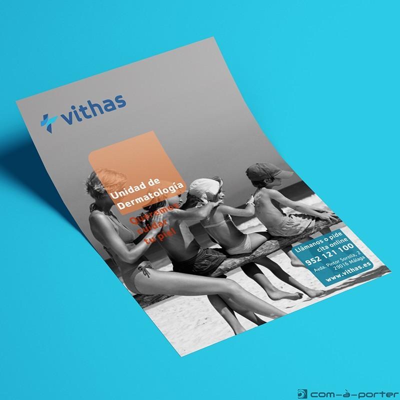 Flyer Unidad de Dermatología de Vithas Hospital Parque San Antonio