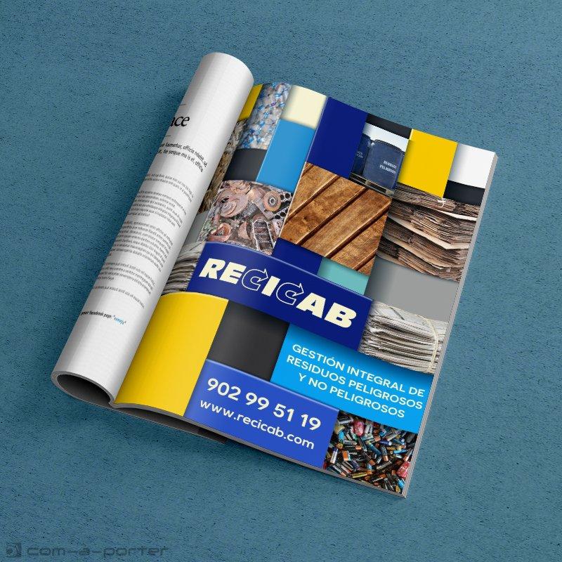 Páginas de Publicidad Corporativa de Recicab